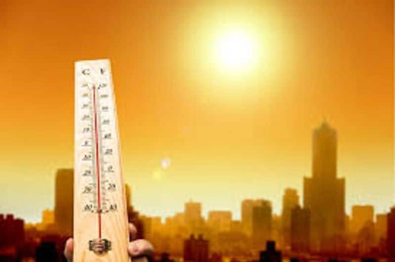 Weather department issued red notice because of heat waves