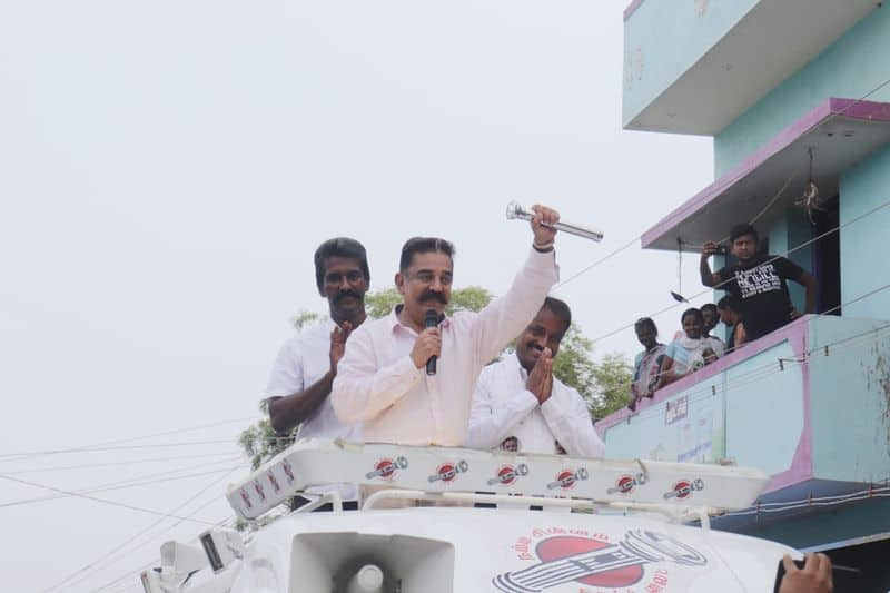 kamal haasan's political stunning campaign
