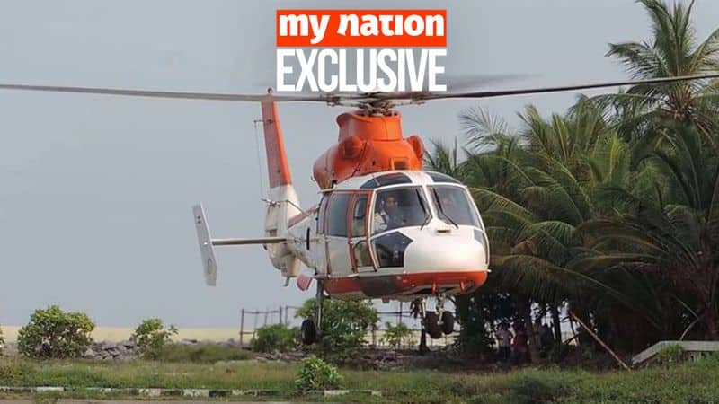 Rajiv Gandhi leisure copter life saver for Lakshadweep is grounded