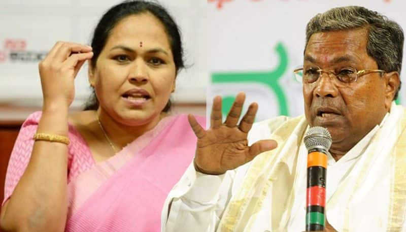 BJP MP Shobha to Siddaramaiah: If you are weak, wear bangles