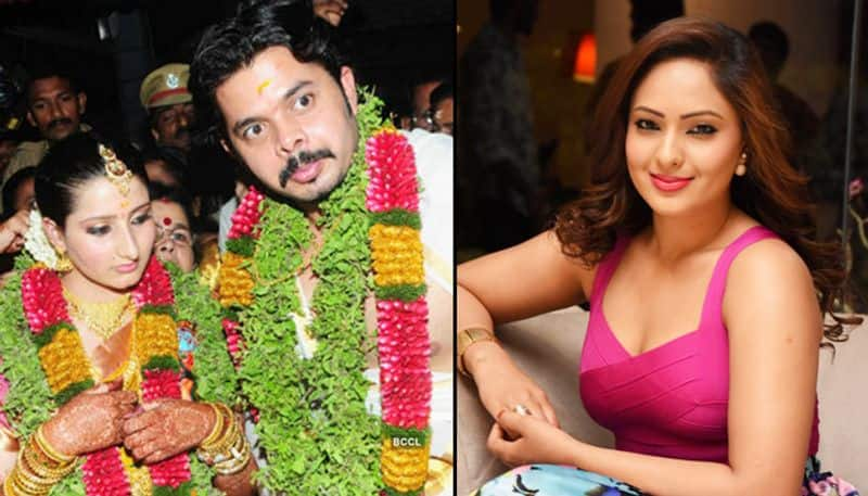 Sreesanth ex girlfriend Nikesha Patel claims he was cheating on his wife