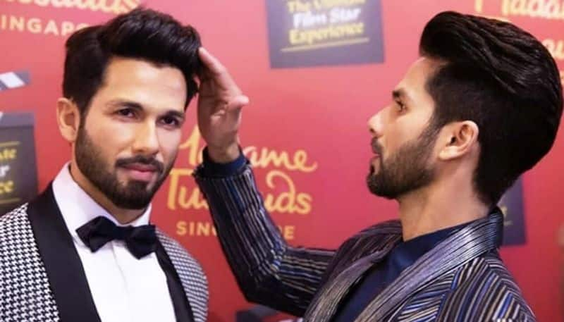 Shahid Kapoor unveils his Madame Tussauds wax figure (pictures inside)