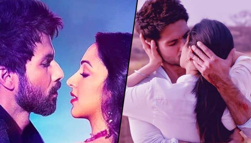Shahid Kapoor rescues Kiara Advani from reporters who asked her about lip-lock