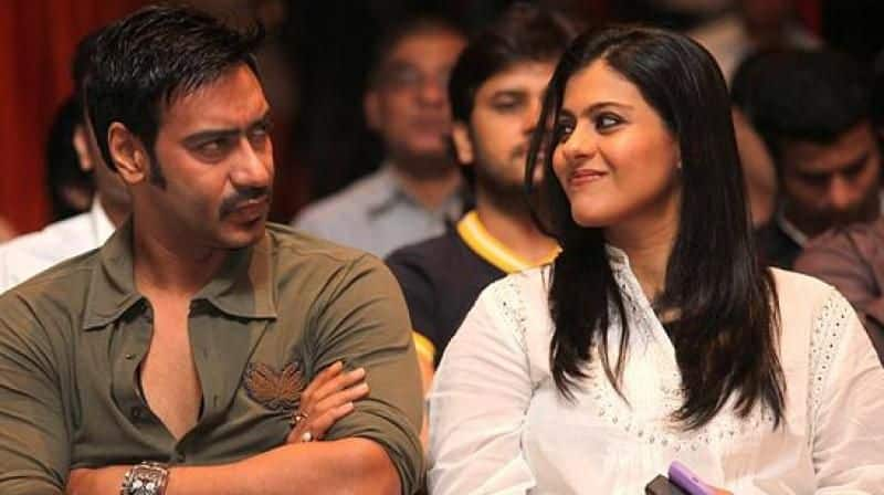 Ajay Devgn speaks about Kajol reaction when she catches him staring at other women
