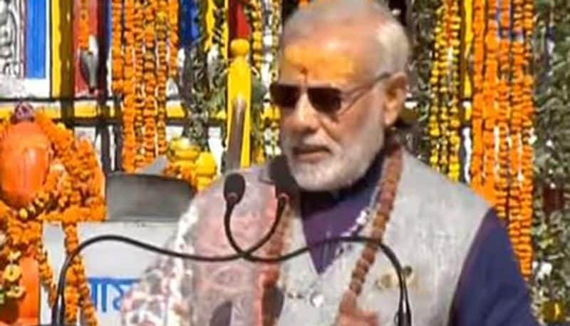 Now PM Modi heads for two day cave retreat