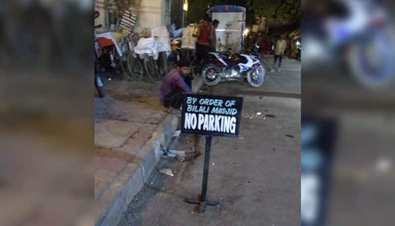 Mumbai Bilali Masjid leaves residents shocked by banning parking near the mosque