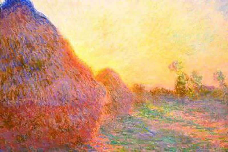 claude monet drawing selected in auction worth rs 778 crores