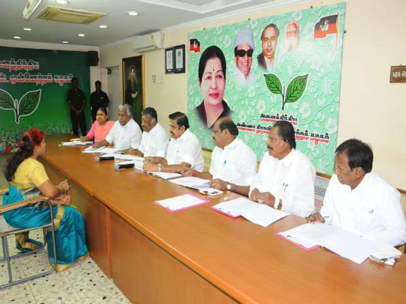 admk mp seat rate is 10 crores