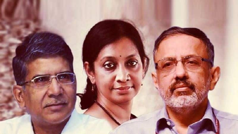 Who are the three IAS officers in the race for the post of cabinet secretary