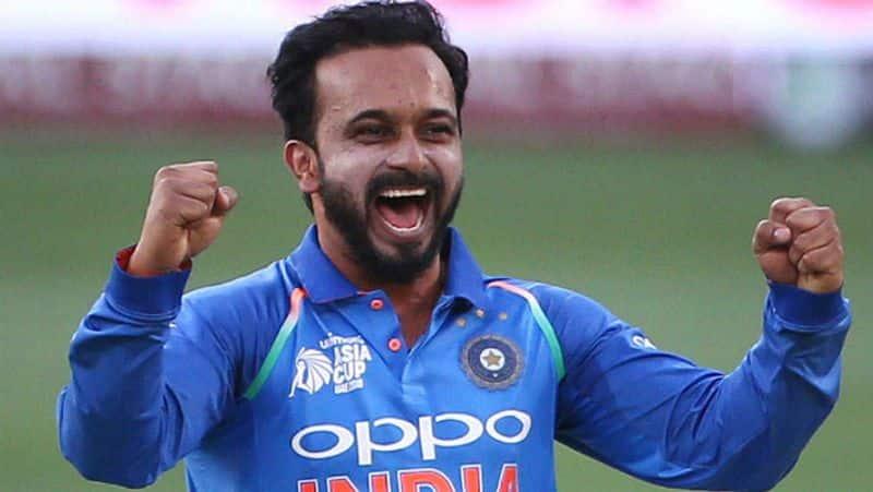 chief selector msk prasad confirmed kedar jadhav available for first world cup match