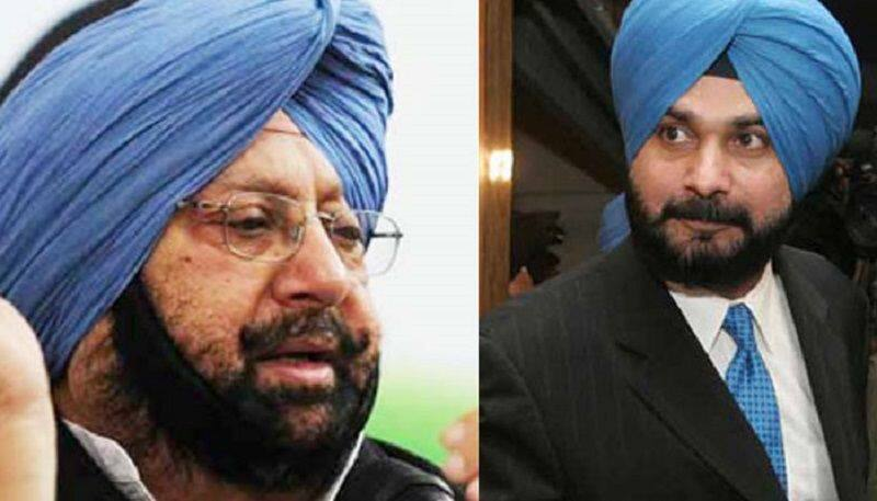 will navjot singh sidhu put his resigning after general election result from caption cabinet