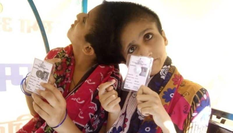 Lok Sabha phase 7 Conjoined twins cast votes separate individuals first time Patna