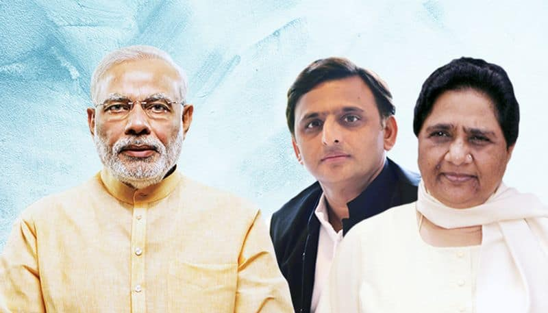 On average BJP to get 41 to 44 seats in UP dashing SP and BSP mahagathbandhan hopes