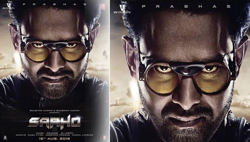 prabhas film saaho first poster release