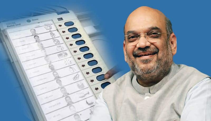 Opposition Disrespecting People's Mandate by questioning  EVM, Says Amit Shah