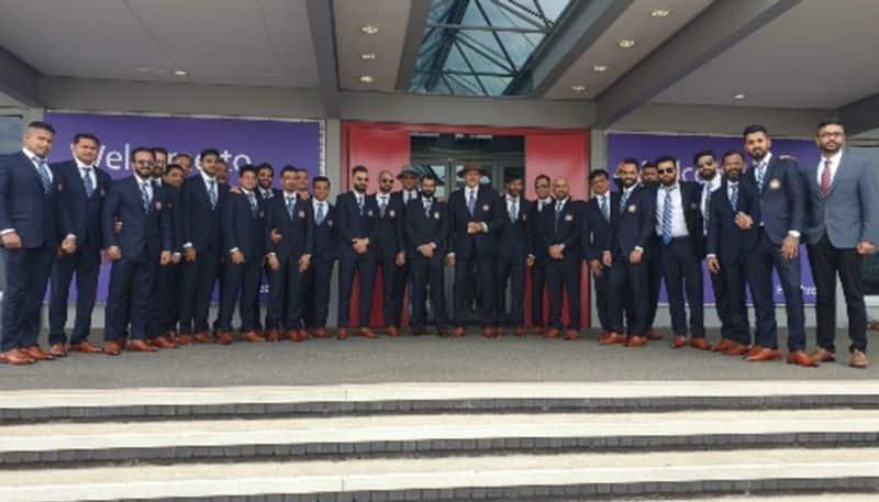World Cup 2019 Virat Kohli-led Indian team lands in London Photos