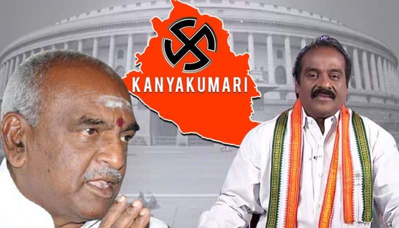 Election results 2019 Congress Vasanthakumar BJP Pon Radhakrishnan Kanyakumari