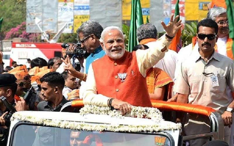 PM narendra modi can be reach in BJP office todays evening