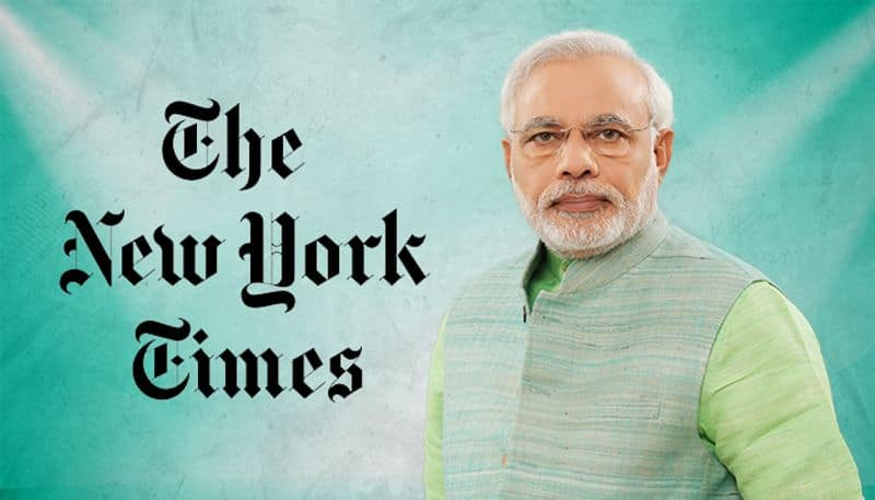 The New York Times not happy with Modi's victory