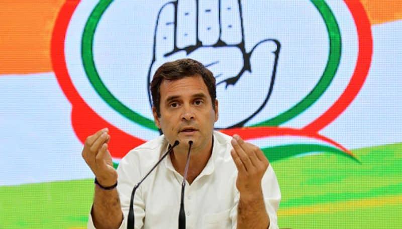 Congress President Rahul Gandhi offers his resignation