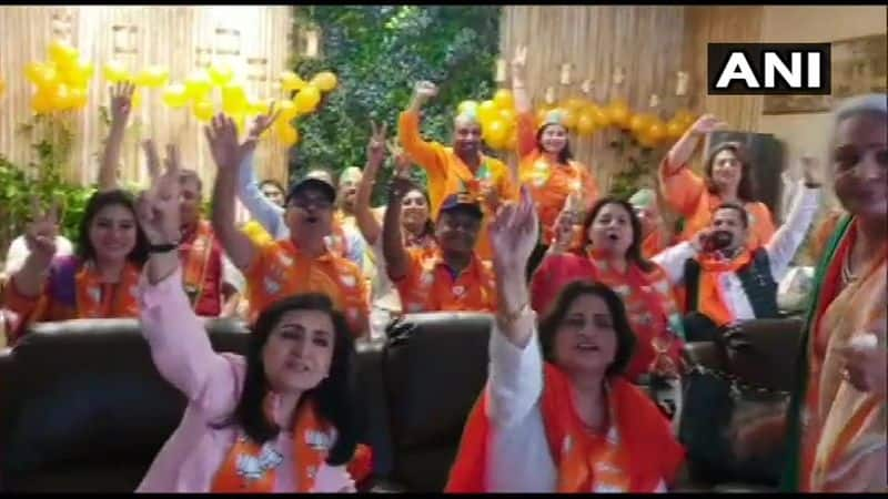 all are celebrating modis victory