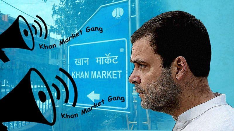 It is the Khan Market gang who has failed Rahul Gandhi