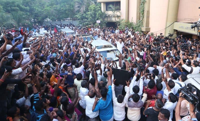 ramadoss question against dmk and people
