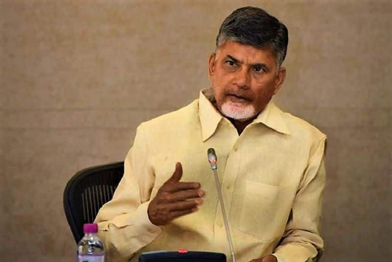 Andhra Pradesh Naidu requests TDP leaders workers to not be discouraged by defeat
