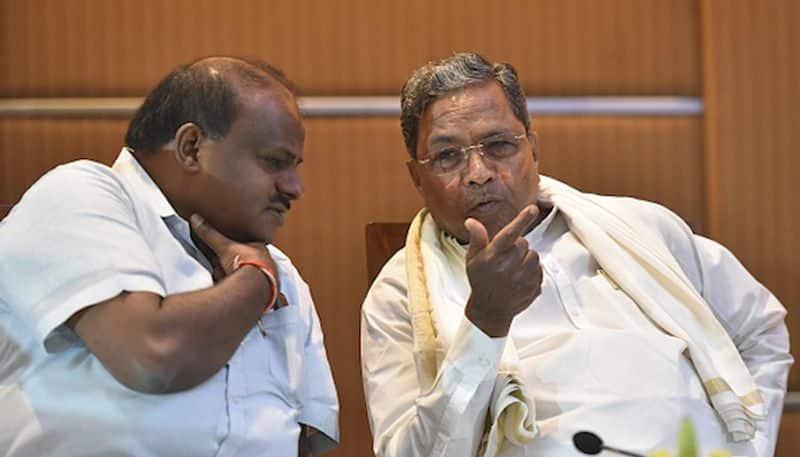 Congress JDS concede defeat Siddaramaiah Kumaraswamy look continue with coalition government