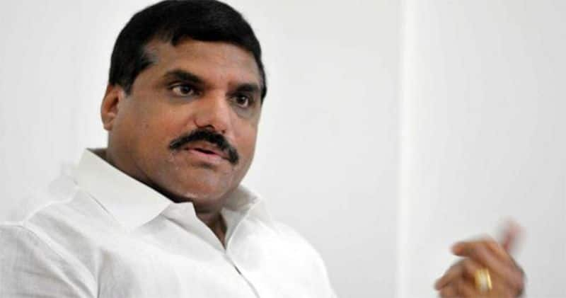 Ap minister Bosta Satyanarayana challenges to TDP chief Chandrababu over Amaravathi
