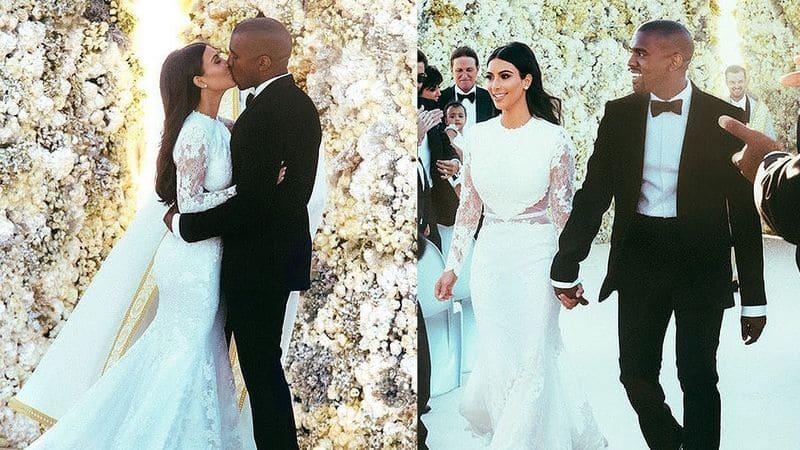Kim Kardashian, Kanye West celebrate their 5th Wedding Anniversary