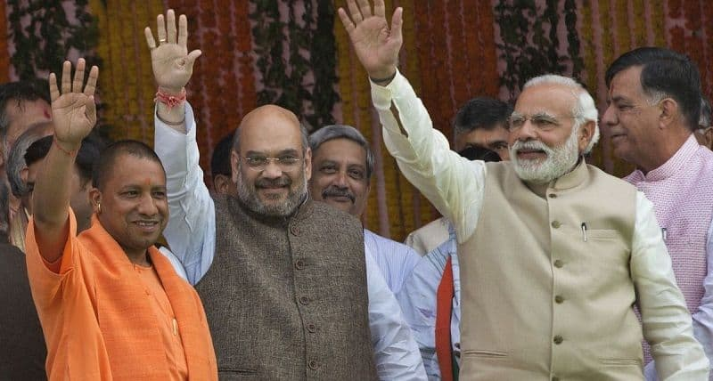 once again yogi has come to work Modi-Shah duos, in up and West Bengal become Crisis maker