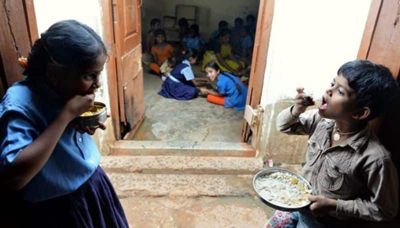 A student brutally tortured for asking extra egg in mid day meal
