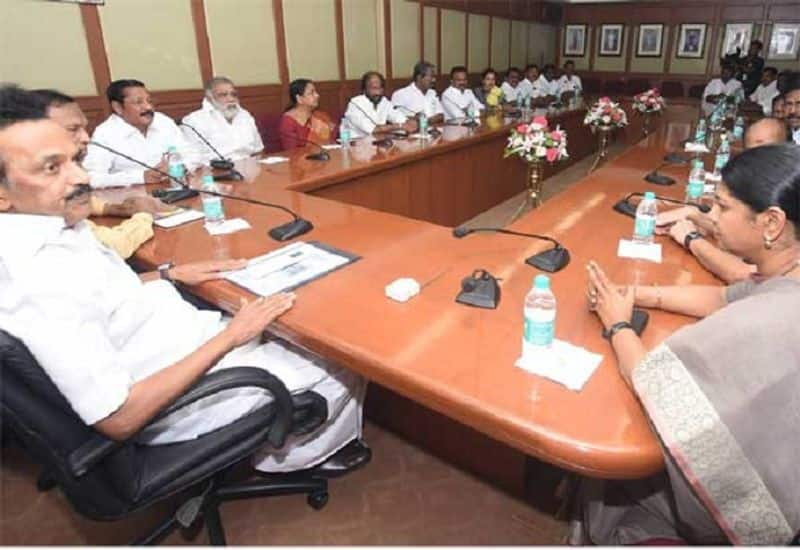 DMK action against DMK District secretaries