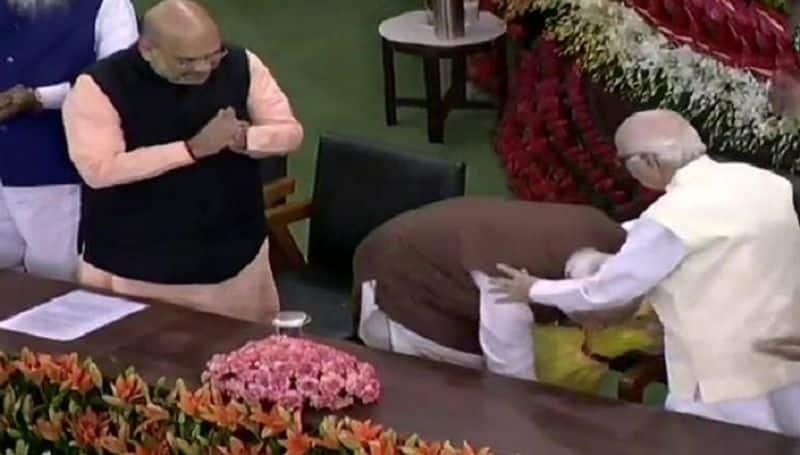 president call modi to sworn as PM
