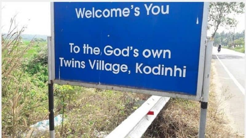 Kodinhi is known as the twin village of Kerala, no one knows reason bsm