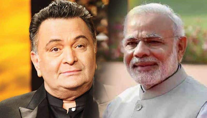 rishi kapoor tweet to pm modi an request him to work on free medicine and education