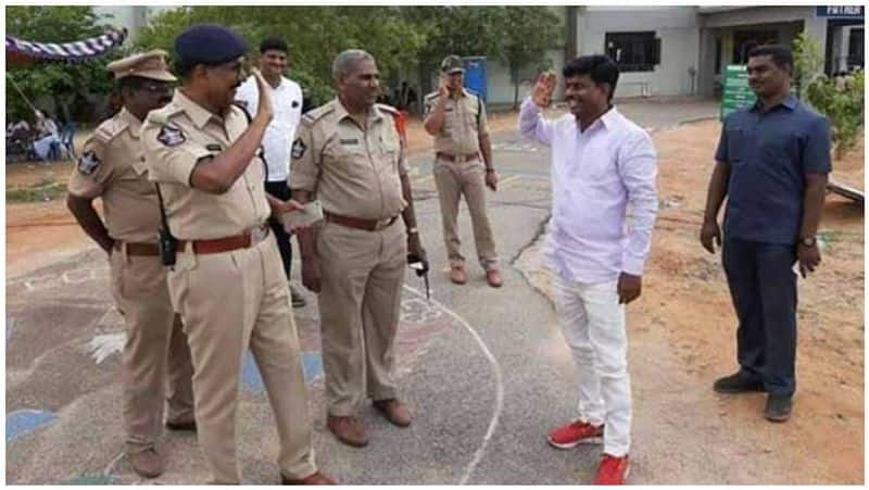 The MP, the police inspector who challenged the MP