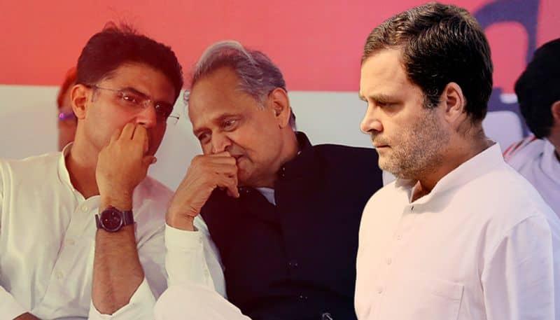 Rajasthan Top two Leaders Meet Rahul Gandhi Amid Congress 'Crisis Within Crisis'