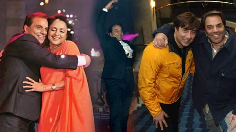 dharmendra Share his dancing video and celebrate hema and sunny deol election victory