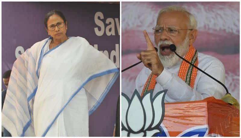 PM Modi attacks to CM Mamata Banerjee on WB progress issue RTB