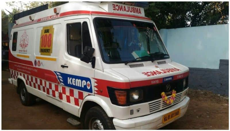 A Special Ambulance Getting Ready For Soldiers In Hubballi