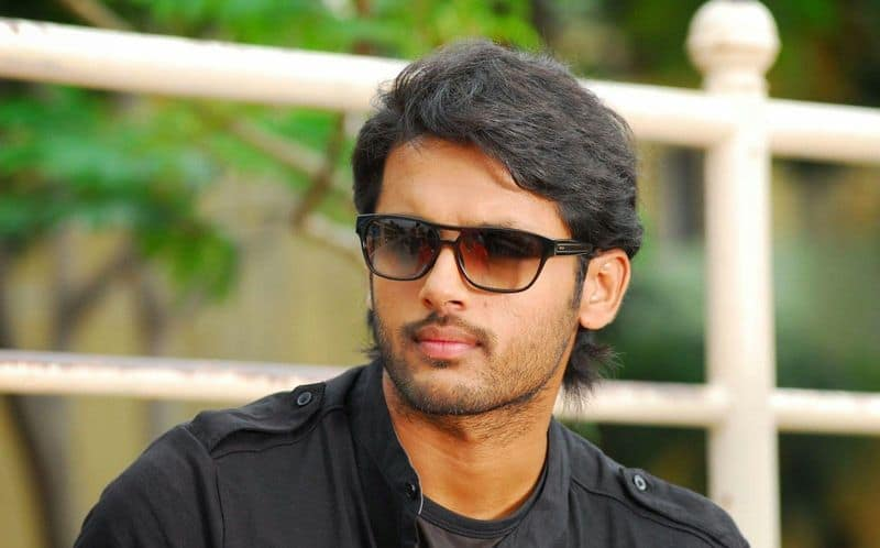 hero nithin guest role in valmiki movie