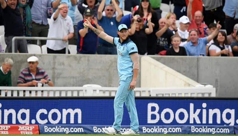 World Cup 2019 Ben Stokes reacts after taking stunning catch against South Africa