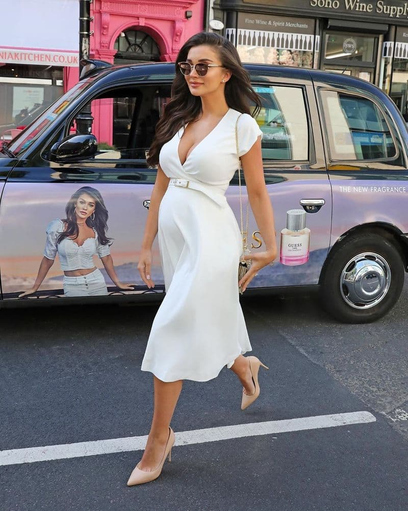 amy jackson give the few tips for pregnant ladies
