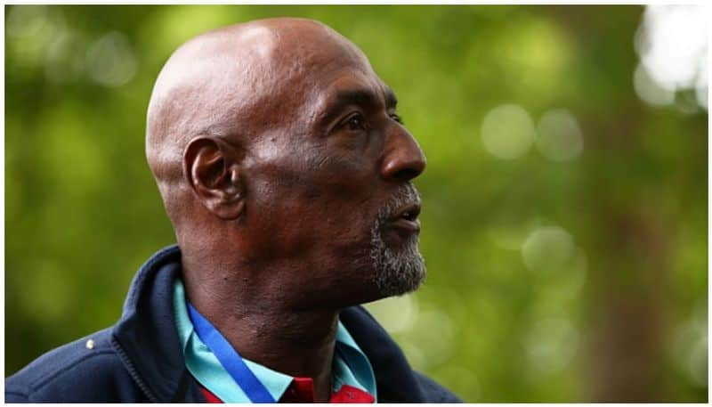 India vs West Indies 2nd Test Viv Richards falls ill during pre-match show