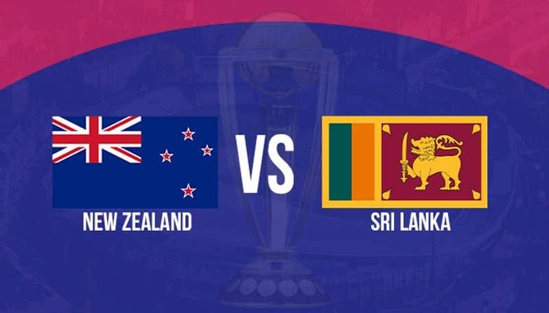 ICC World Cup New Zealand vs Sri Lanka