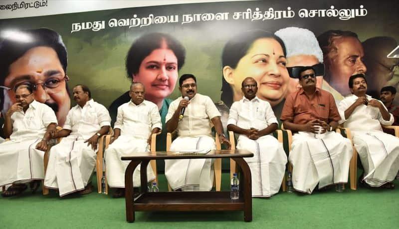 TTVDhinakaran prees meet
