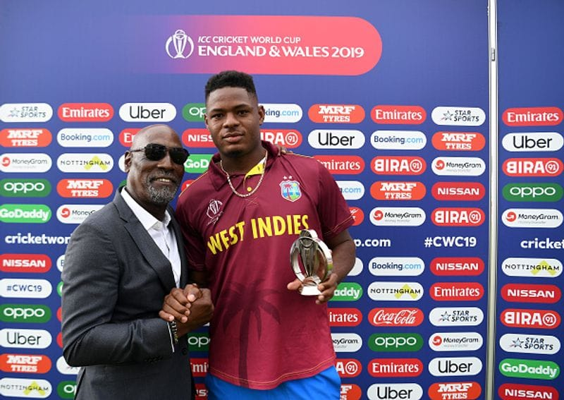 west indies fast bowler oshane thomas involved in car accident and escapes from serious injury
