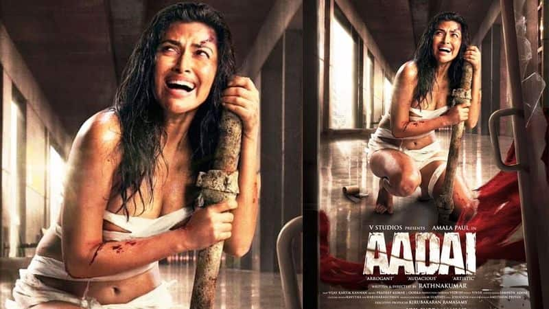 Chennai politician: Amala Pauls Aadai posters will nurture negative thoughts in young minds